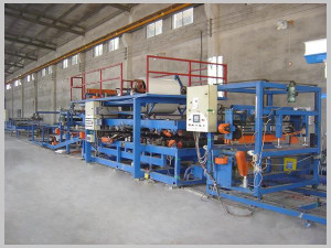 color steel composite plate production line equipment in the production process 1 300x225 - zhongtuo roll forming machinery co.ltd