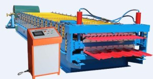 color steel roll forming machine 300x156 - Basic features steel tile equipment