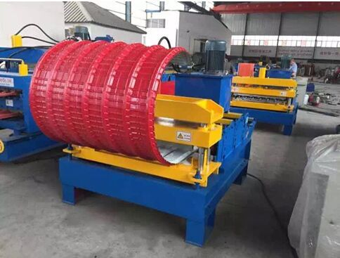 8 - Arch Sheet Roll Forming Machine