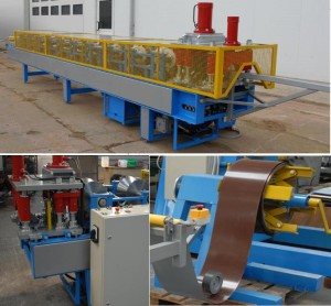 ridge cap roll form machine 300x278 - Ridge Cap Roll Forming Machine