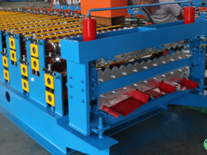Double Layer Roofing Roll Forming Machine 300x225 - Double steel tile machine equipment