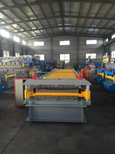Double layer color coated steel sheet roll forming machine 1 225x300 - Double layer color coated steel sheet roll forming machine