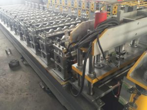 900 Steel Tile Roll Forming Machine 2 300x225 - 900 Steel Tile Roll Forming Machine
