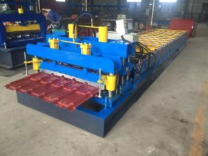 900 Steel Tile Roll Forming Machine 3 300x225 - 900 Steel Tile Roll Forming Machine