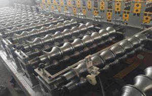 950 Steel Tile Roll Forming Machine 2 1 300x191 - 950 Steel Tile Roll Forming Machine