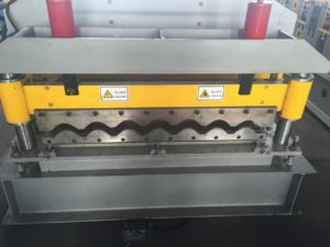 950 Steel Tile Roll Forming Machine 3 300x225 - 950 Steel Tile Roll Forming Machine