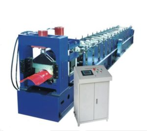 Angle Iron Ridge Cap Roll Forming Machine for Roof Hat 1 1 300x266 - Angle Iron Ridge Cap Roll Forming Machine for Roof Hat