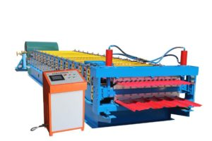Double layer roll forming machine 300x200 - Double layer roll forming machine