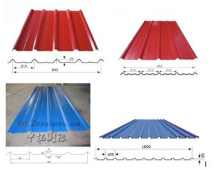 Trapezoid roof roll forming machine 1 300x239 - Trapezoid roof roll forming machine