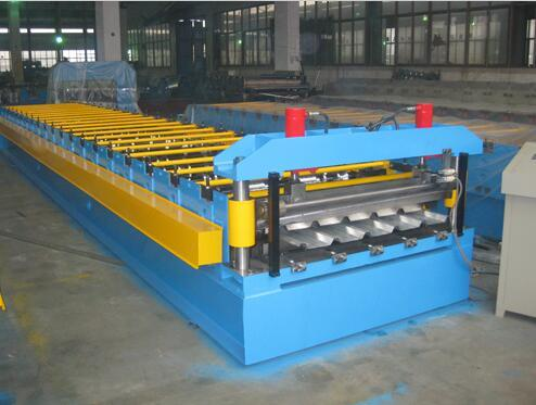 Trapezoid roof roll forming machine - Trapezoid roof roll forming machine