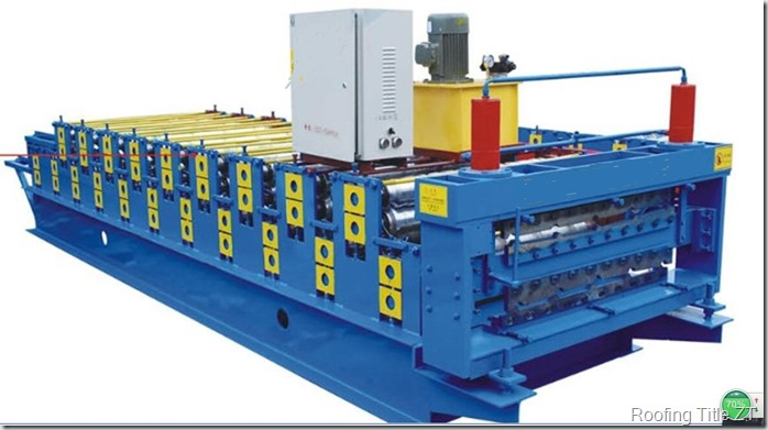 SuperSixmachine thumb - Double layer roofing sheet rolling machine of R1000& C1000 Super Six drawing profile