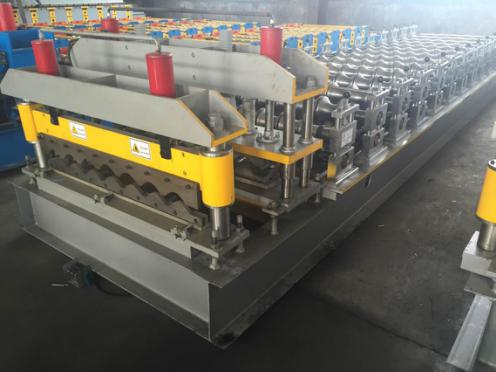 bamboo type tile roll forming machine 1 - ZT900 bamboo type tile roll forming machine