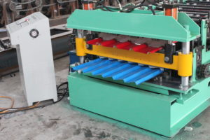 IMG 4160 300x200 - High speed steel profile cold roll forming machine from China