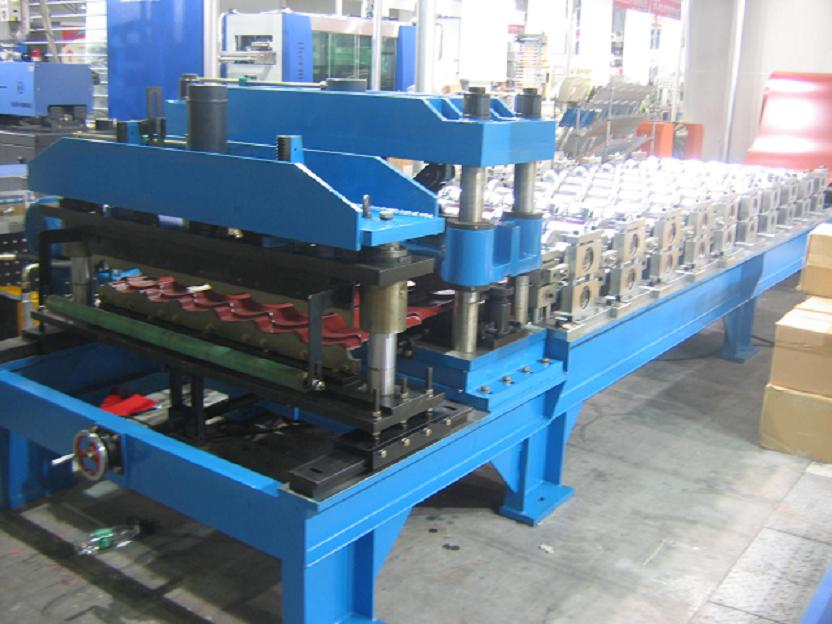 Roofing Tile Roll Forming Machine - New Corrugated Metal Steel Roof Panel Roll Forming Machine