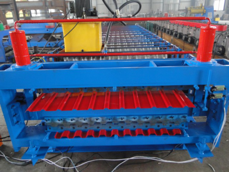 1 - High Quality Galvanized Roof Panel Steel Roll Forming Line