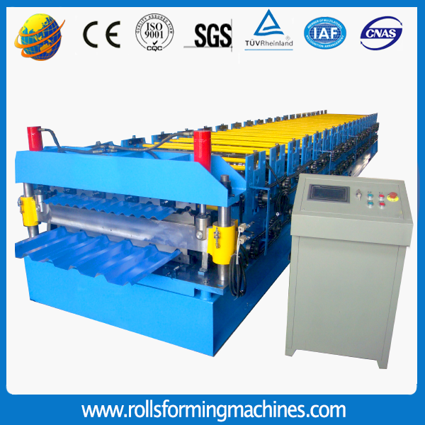 22 - Double Layers Roll Forming Machine