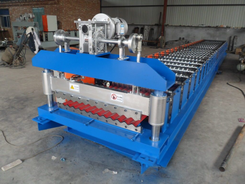 1 1024x768 - 18/76 Sinus Form Roof and Wall Corrugated Sheet Making Machine
