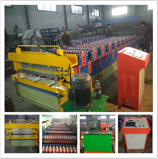20170806205306 - Double Layer Steel Tile Roofing Roll Forming Machine