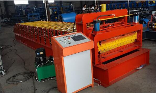 Steel Structure Hotel Building Galvanized Roofing Sheet Roll Forming Machine - Steel Structure Hotel Building Galvanized Roofing Sheet Roll Forming Machine