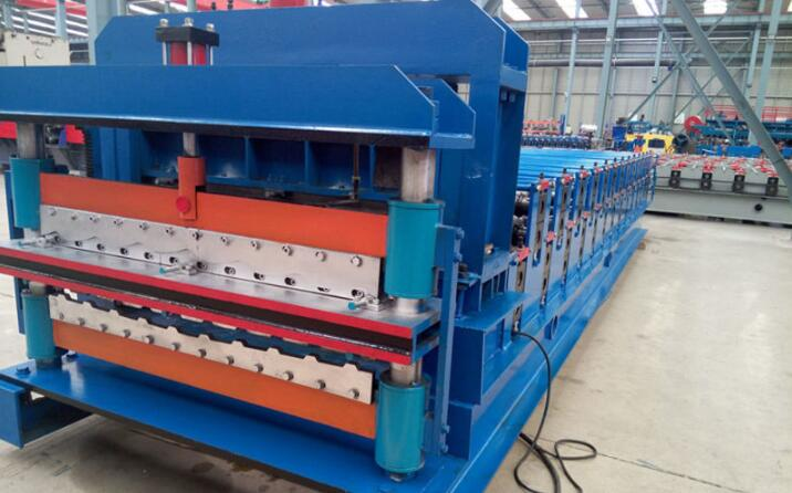 Double Deck Glazed Tile Roll Forming Machine 9 - Double Deck Glazed Tile Roll Forming Machine