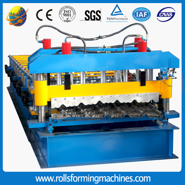 210 - Various types of glazed tile roll forming machine