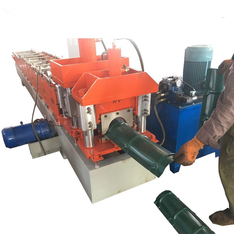 HTB1EvtASFXXXXb4XpXXq6xXFXXXk - color steel roof ridge cap roll forming machine