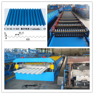 Corrugated machine  300x300 - Steel sheet roll forming machine for corrugated roof