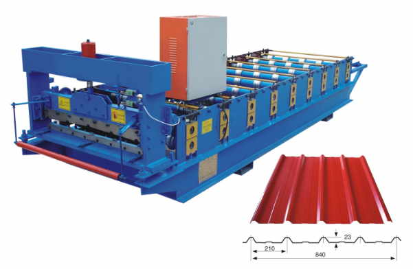 840 steel IBR roofing sheet making machine - Steel IBR roofing sheet making machine for sale