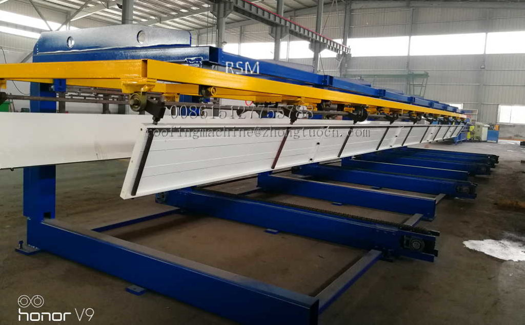 automatic stacker 1024x634 - Automatically Roofing Sheet Stacker