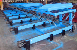 collecting stacker 300x196 - Automatically Roofing Sheet Stacker