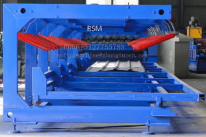 collecting table 300x200 - Automatically Roofing Sheet Stacker