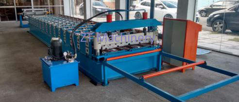 color steel roofing sheet making machine 副本 - Roofing Sheet Making Machines