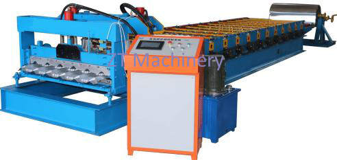 glazed tile roofing sheet making machine 副本 - Roofing Sheet Making Machines