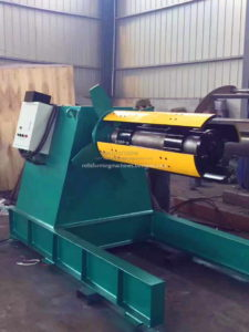popular decoiler 225x300 - New Style Roof Tile Making Machines