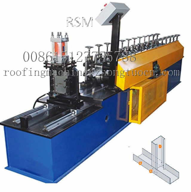 stud track machine 6 副本 - The Application Field of Roll Forming Machine