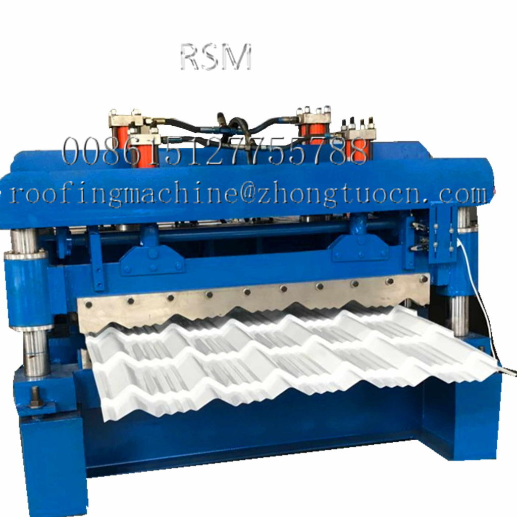 tile machine  副本 1024x1024 - The Application Field of Roll Forming Machine