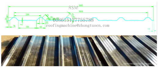 1000 mm valid width roofing sheet - 1000 mm valid width roofing sheet rolling former