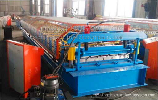 1000 valid width roofing sheet rolling former - 1000 mm valid width roofing sheet rolling former