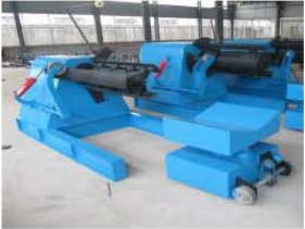 Hydraulic Uncoilernot include coil car - 1220 mm Roof Industrial Machinery