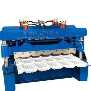 colored glazed tile roofing former 300x300 - Color roofing tiles making machine