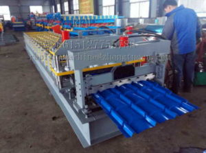 glazed tile machine 300x223 - Color steel forming equipment