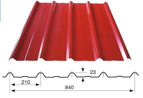 840 roof sheet - Various kinds trapezoidal sheet for roof