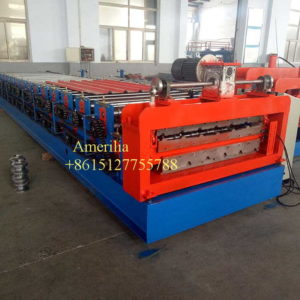 double layer roll forming machine 副本 300x300 - Steel profile cladding sheets roll forming machine