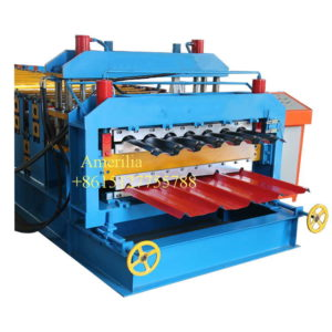 double layer roofing sheet machine 300x300 - Steel profile cladding sheets roll forming machine