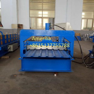 IBR roof panel machine 300x300 - Roof and wall cladding roll forming machine