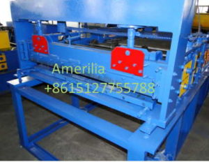 hydraulic cutting system 300x232 - Color stone roof production line