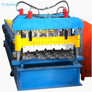 roof tile forming machine 300x300 - The debugging of color steel roll forming machine