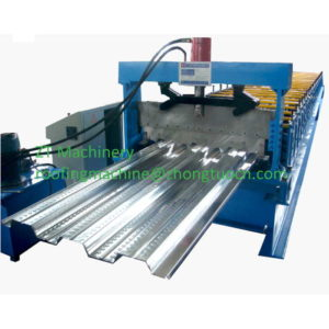 steel deck forming machine 300x300 - 750 Floor deck roll forming machine