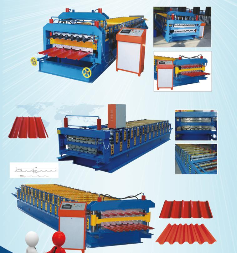Zhongtuo Will attend Middle East Dubai Building Five Industry Exhibition Big 5_double layer roll forming machine