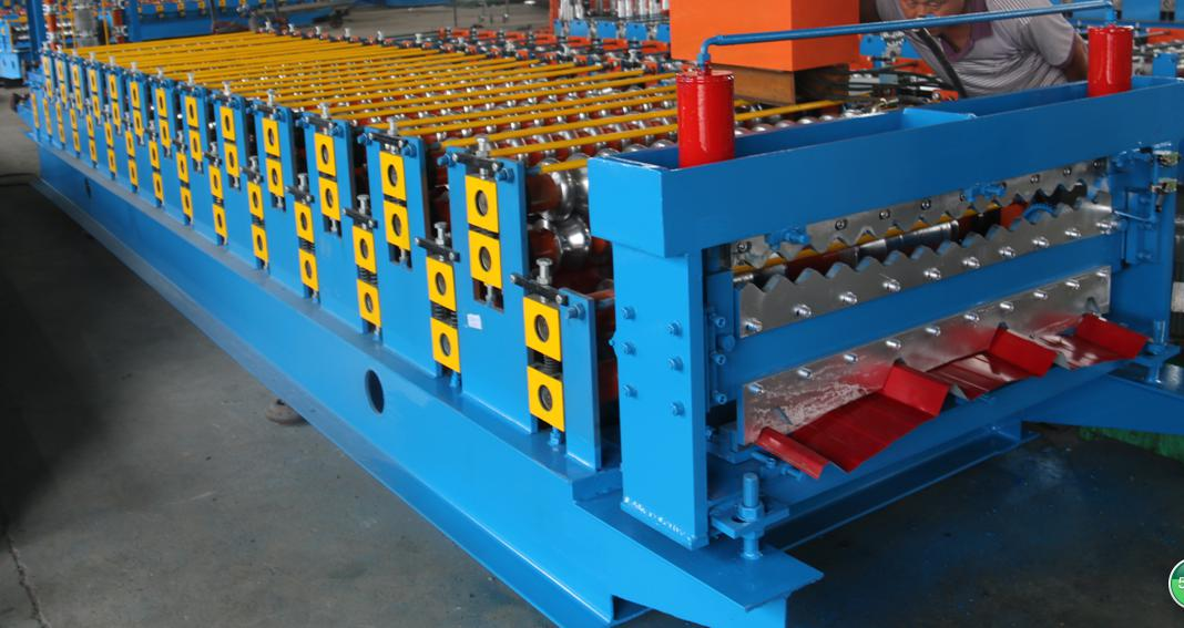 Double Layer Roofing Roll Forming Machine_main